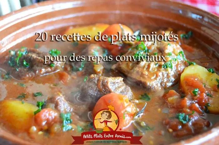 20 recettes de plats mijotes pour des repas conviviaux
