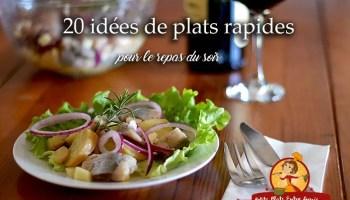 25 Idees De Plats Legers Pour Votre Repas Du Soir Petits Plats