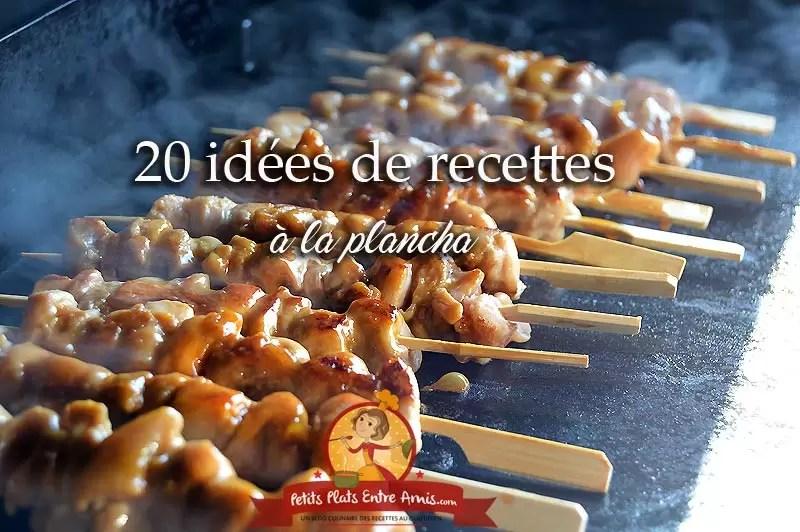 20 idees de recettes a la plancha