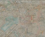 1943-44 год., План на Янзен - предвижда нови сгради на местото на Форума