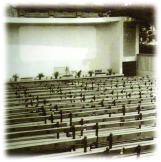"""1975 год. Лятното кино """"България"""" преди реставрацията на Одеона"""