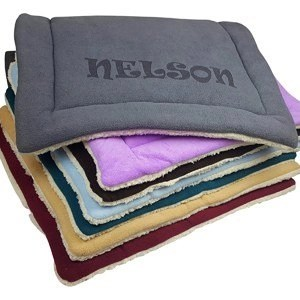 Custom Catch Personalized Dog Bed Mat