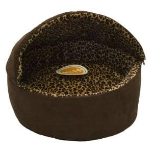 KH Manufacturing Thermo Kitty Bed Deluxe Hooded Cat Bed