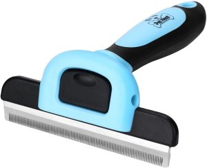 Pet Neat Pet Grooming Brush Effectively Reduces Shedding by Up to 95% Professional Deshedding Tool for Dogs and Cats
