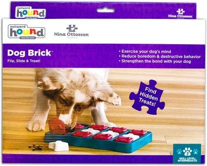 Outward Hound Nina Ottosson Interactive Puzzle Game Dog Toys