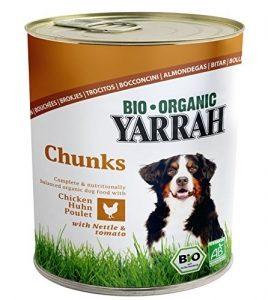 yarrah bio hundefutter broeckchen huhn brennessel tomate 820g 6er pack 6 x 820