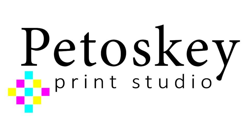 Petoskey Print Studio Sqaure Logo