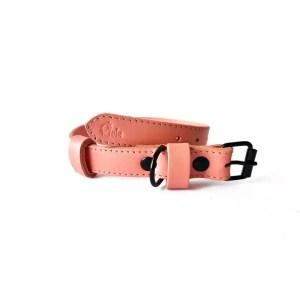 Riola Design Baby Rose prémium bőr kutyanyakörv