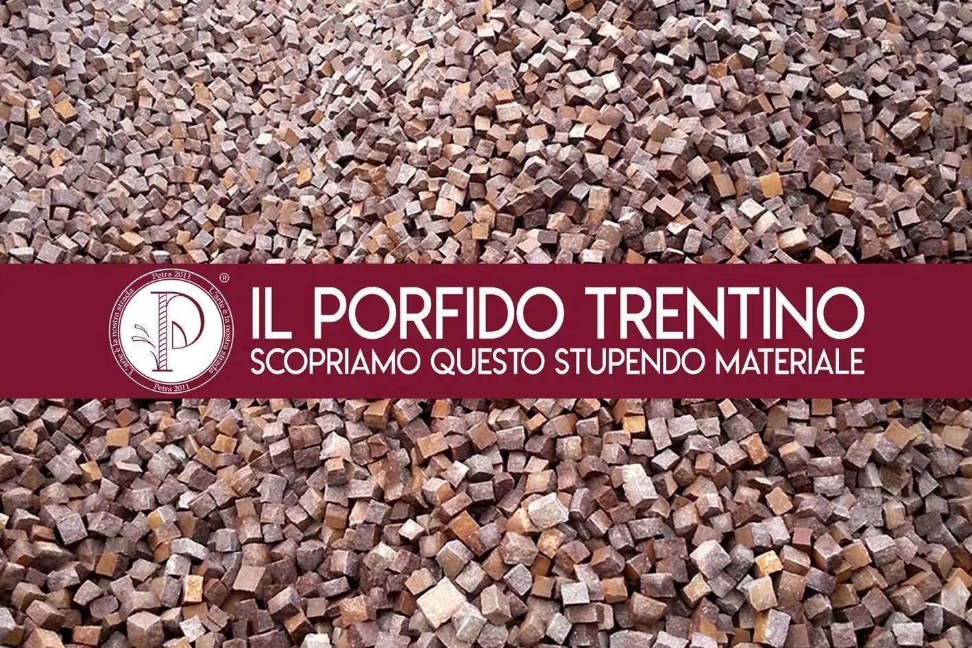 il porfido del Trentino