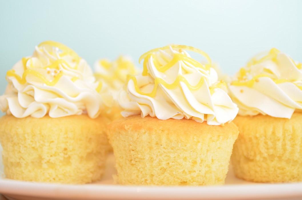 Lemon Cupcakes Petra Cakes