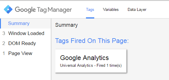 Adding Google Analytics to Google Tag Manager