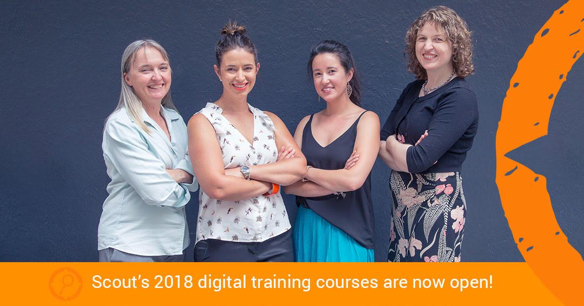 Petra Manos Scout Digital Courses