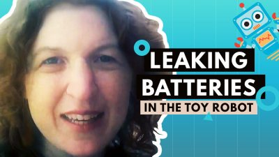 [Video] Leaking Batteries in the Toy Robot