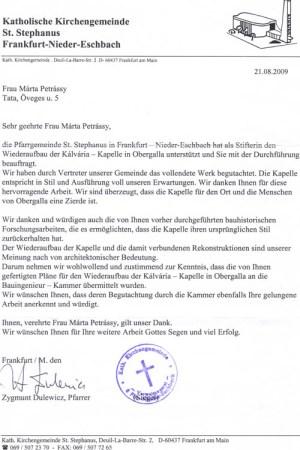 fankfurti plébánia levele2