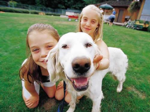 Ter um cachorro faz as crianças se exercitarem mais