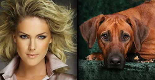 Ana Hickmann doa filhote de cachorro para Bope