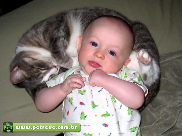Saúde alerta para cuidados com bebês e animais de estimação em casa