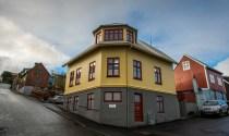 Húsið á Sjúrðargøtu 20, har tannlæknastovan heldur til.