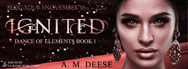 "Blog Tour & Review: ""Ignited"" by A. M. Deese"