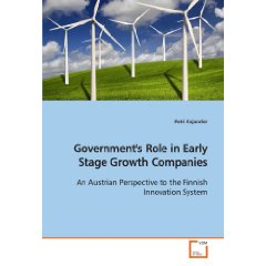 Government's Role in Early Stage Companies