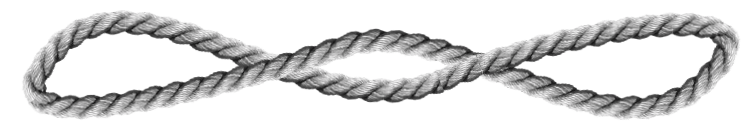 Image of a curved rope