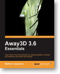 Away3D Essentials Book Cover