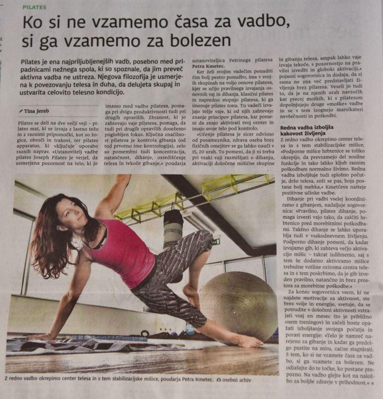 Petrin pilates Dnevnik