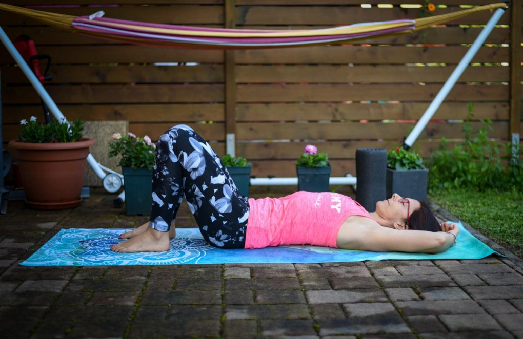 Rotacija medenice, pilates