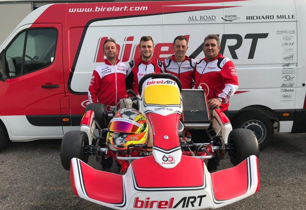 Alex Irlando joins Birel ART Racing Team