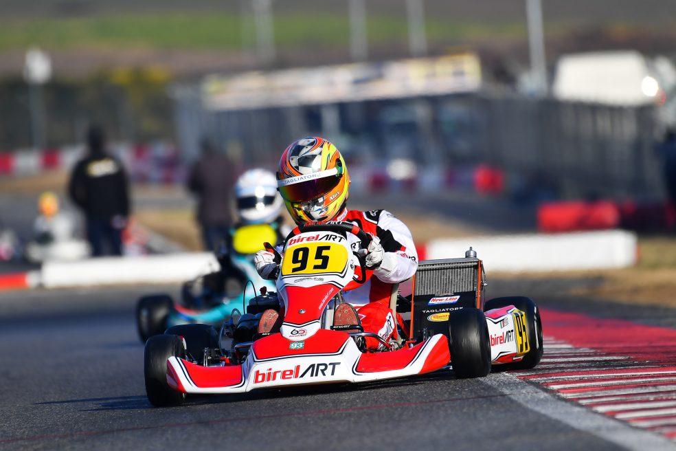 Alex Irlando doubles his effort in Sarno