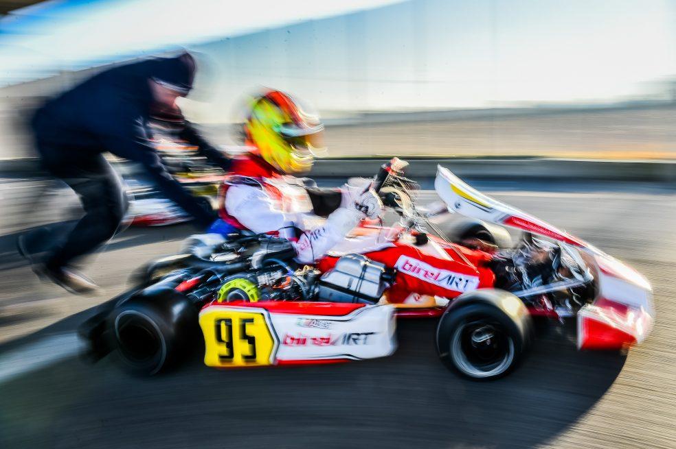 Alex Irlando debuts in the FFSA French OK Championship