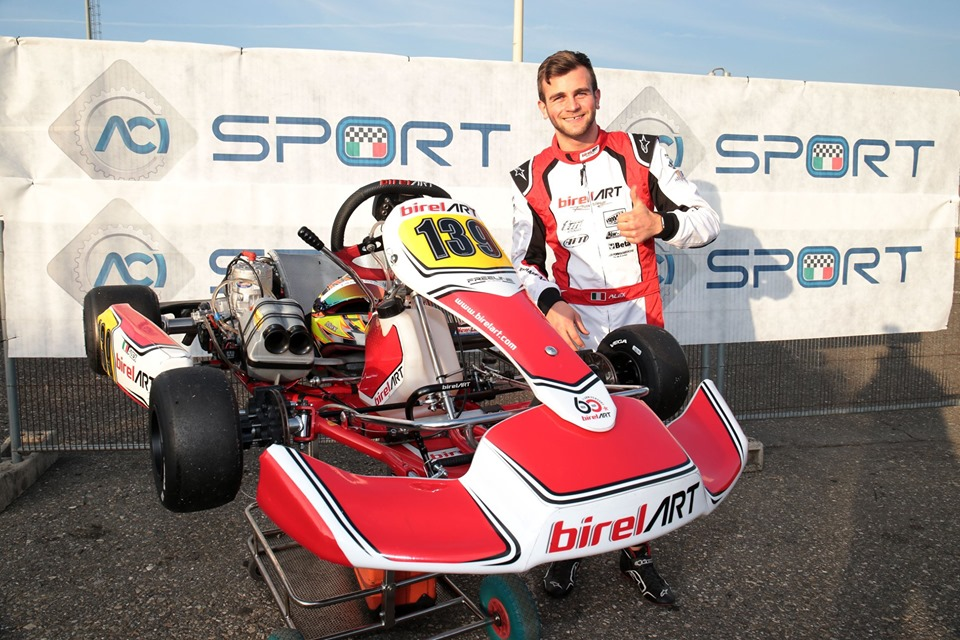 Alex Irlando heads to Karting Genk