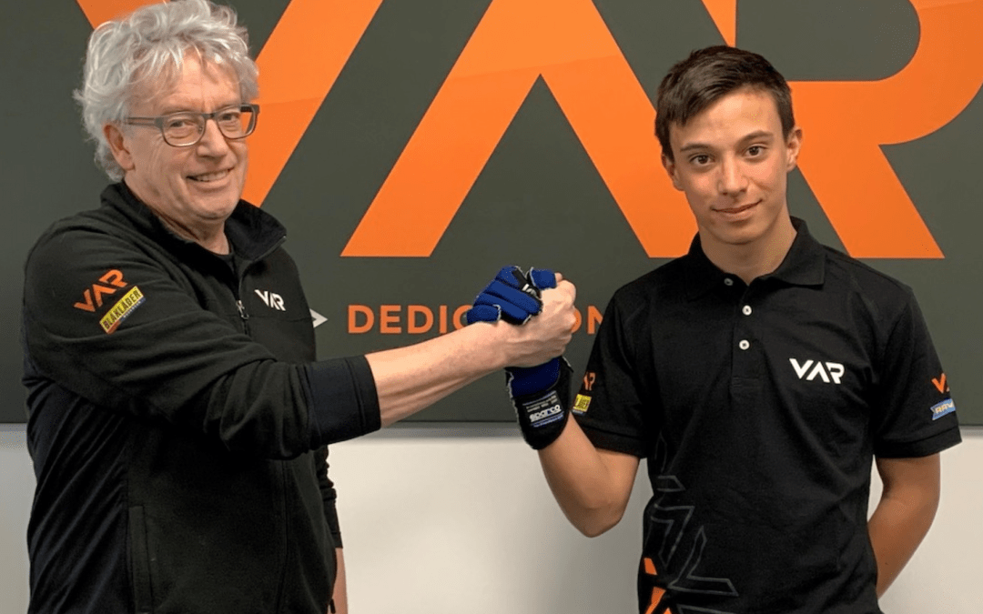 Francesco Pizzi si unisce al Van Amersfoort Racing per il 2020
