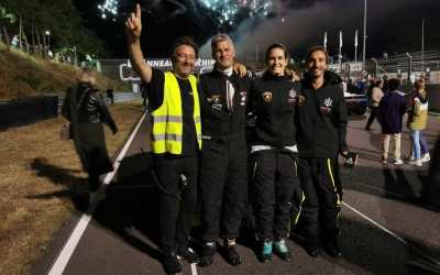 Positive first GT experience for Natalia Balbo