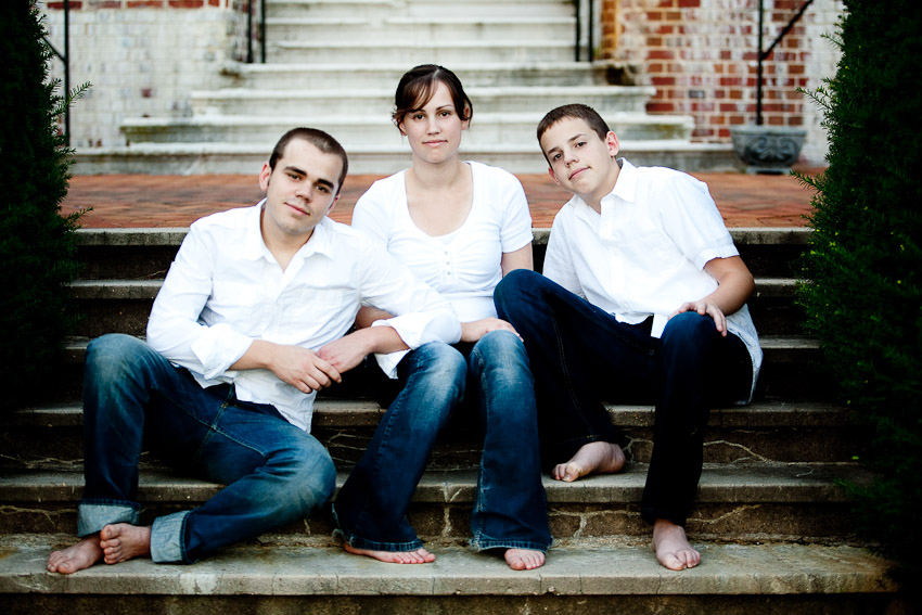 Portrait Session at the Belair Mansion in Bowie, Maryland