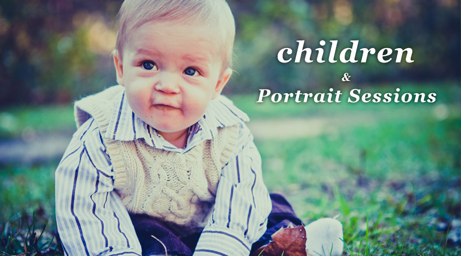 Great Portrait Sessions With Children