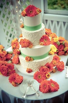 wedding cake at Mt. Airy Mansion in Upper Marlboro, MD