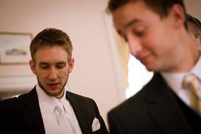 groom gettnig ready at Mt. Airy Mansion in Upper Marlboro Maryland