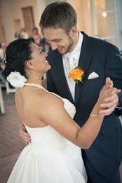 bride and groom dancing at Mt. Airy Mansion in Upper Marlboro Maryland