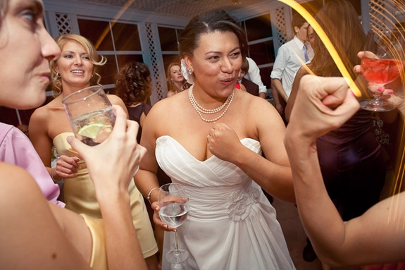 bride at reception at Mt. Airy Mansion in Upper Marlboro Maryland
