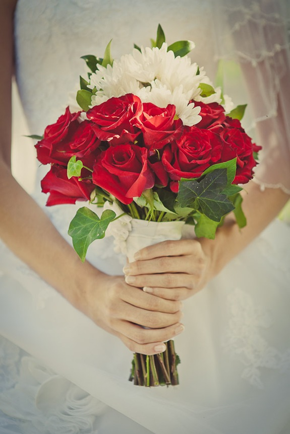 bride's bouquet in Mechanicsville MD