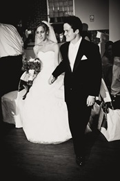 Bride and Groom walking into reception in Waldorf MD