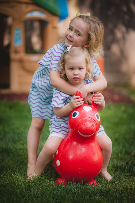 Cute child portraits at home in Silver Spring Maryland
