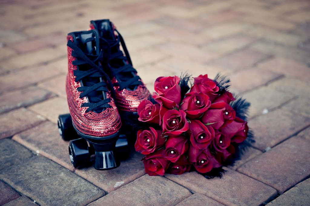 wedding-shoes-roller-skates