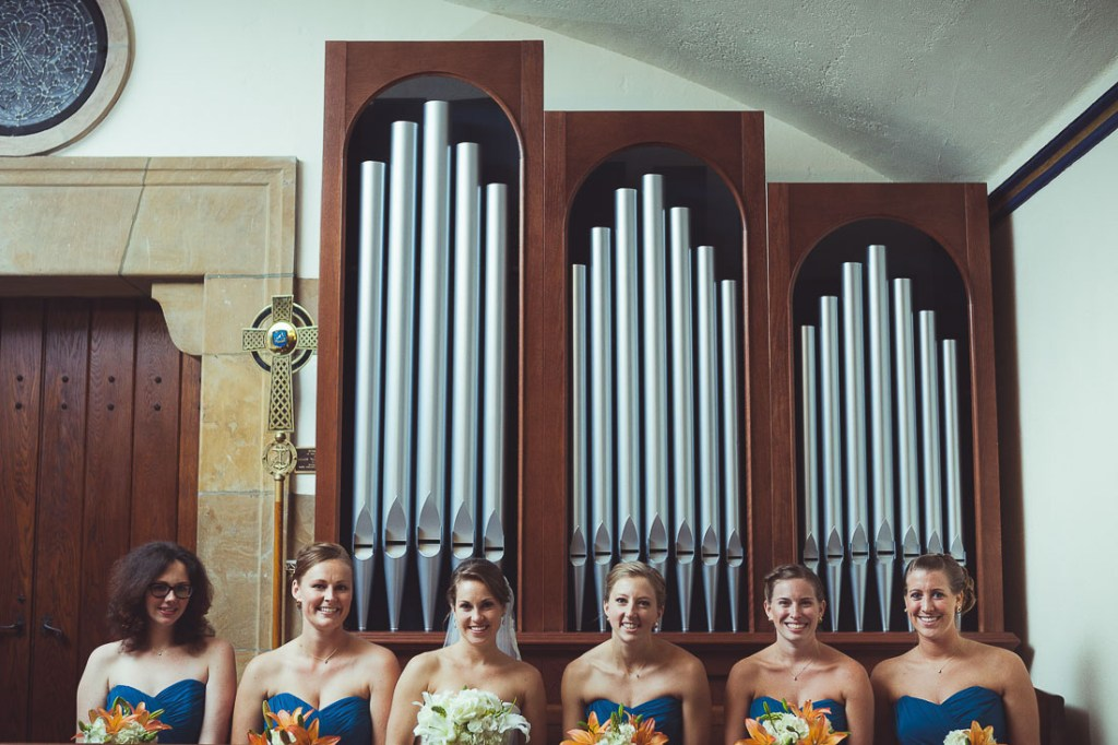 bridesmaids-in-the-church