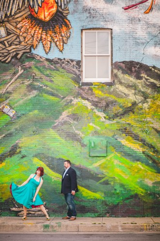 engagement session with murals and graffiti in baltimore 08