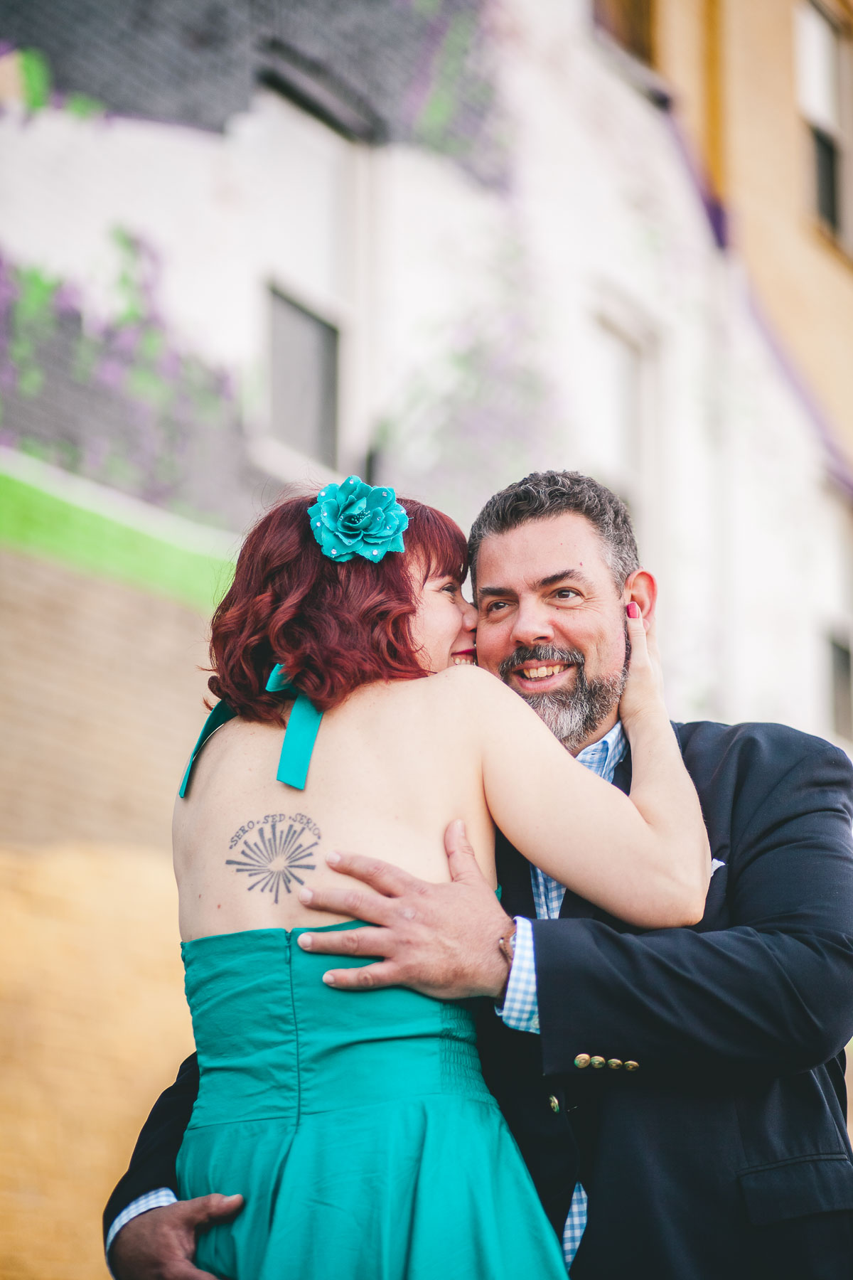 engagement session with murals and graffiti in baltimore 10