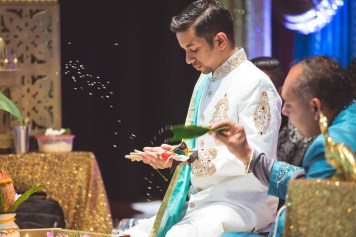 Pooja Ritual Engagement Ceremony from Felipe Sanchez with Petruzzo Photography 15