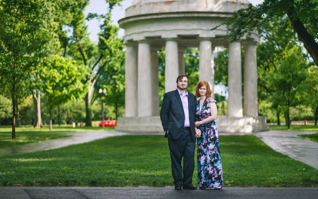 A Very Wet Elopement in Washington, DC
