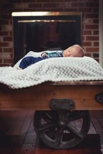 A Newborn Family Forest Portrait 21